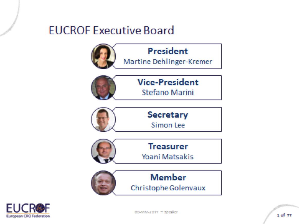 EUCROF executive board